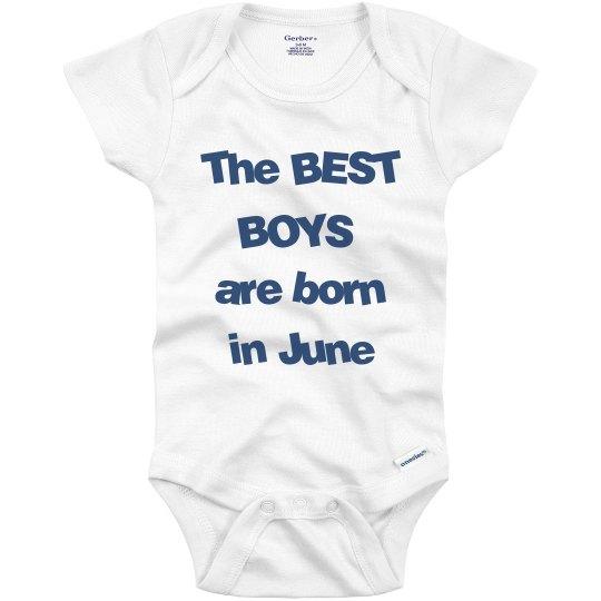 Best boys born in June