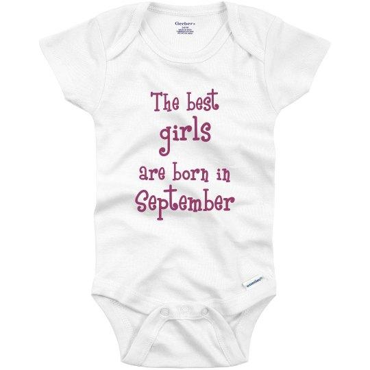 Best girls born in September