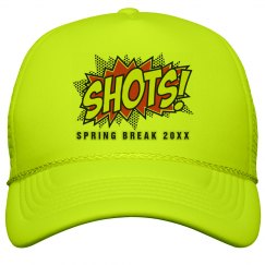 Custom Spring Break Hat