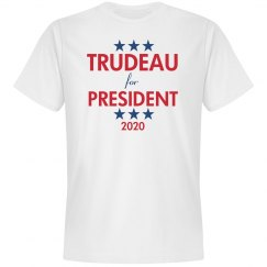 Trudeau for President 2016