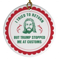 Jesus Tried But Trump Stopped Him