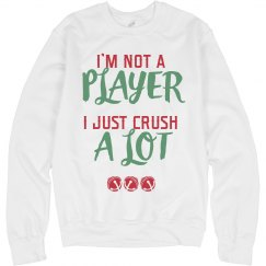 Not A Player Christmas Sweater