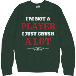 Not A Player Ugly Christmas Sweater