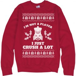 Crush A Lot Nutcracker Ugly Sweater