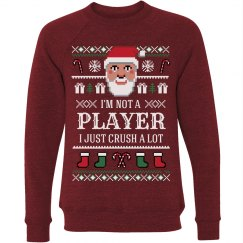 Santa's Not A Player Xmas Sweater