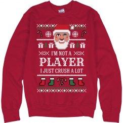 Santa Crush A Lot Xmas Sweater