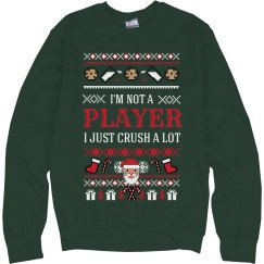 Christmas Sweater Santa Crush A Lot