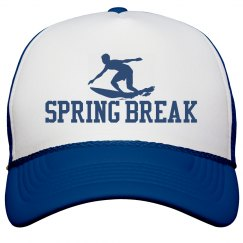 Spring Break Surfer Trucker Hat