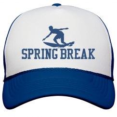 Spring Break Surfer Trucker Hat