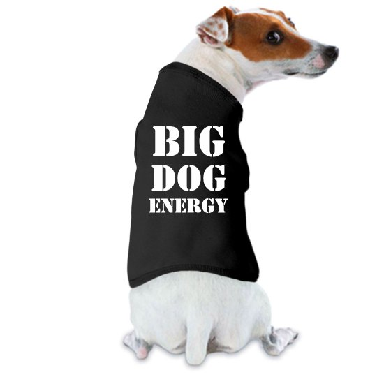 Big Dog Energy Pet Shirt