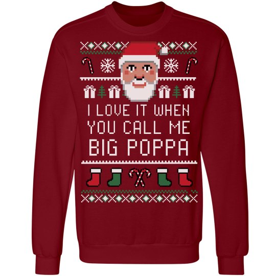 Big Papa Ugly Xmas Sweater