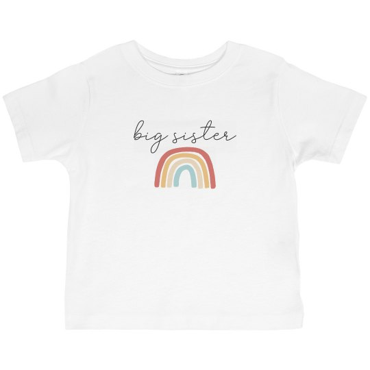 Big Sister -Toddler Tee
