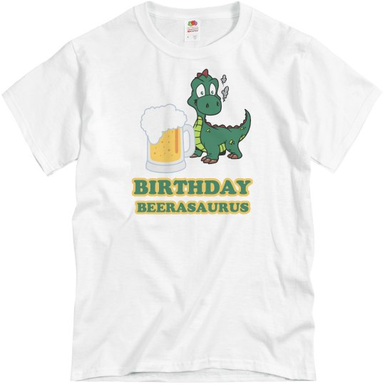 Birthday Beerasaurus