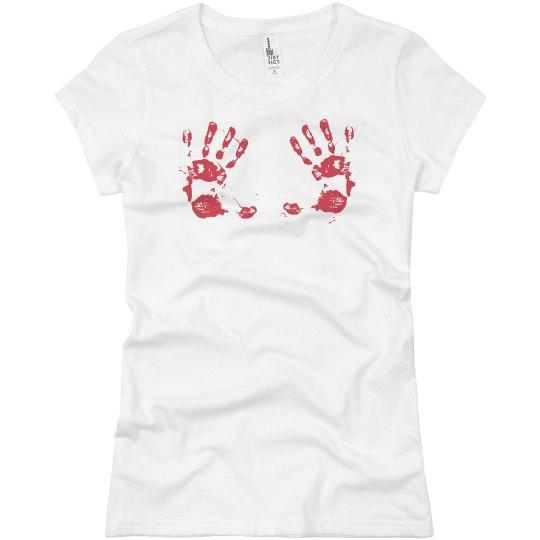 Bloody Hand Bra