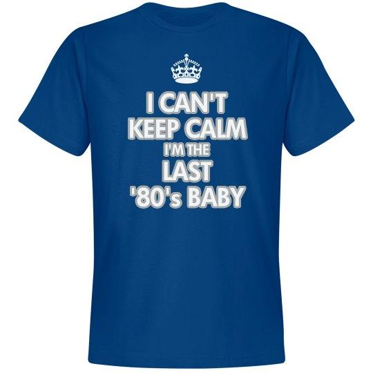 Blue Last '80's Baby