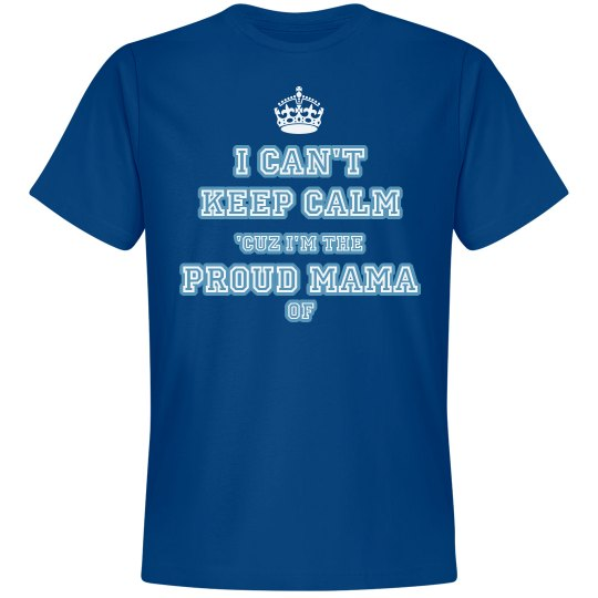 "Blue ""Proud Mama"" Tee"