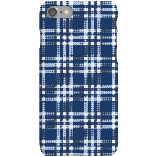 Blue Stripe Pattern Case