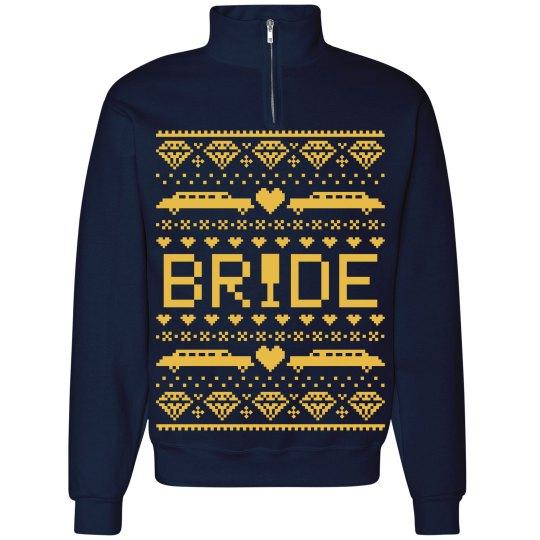 Bride Ugly Christmas Hoodie