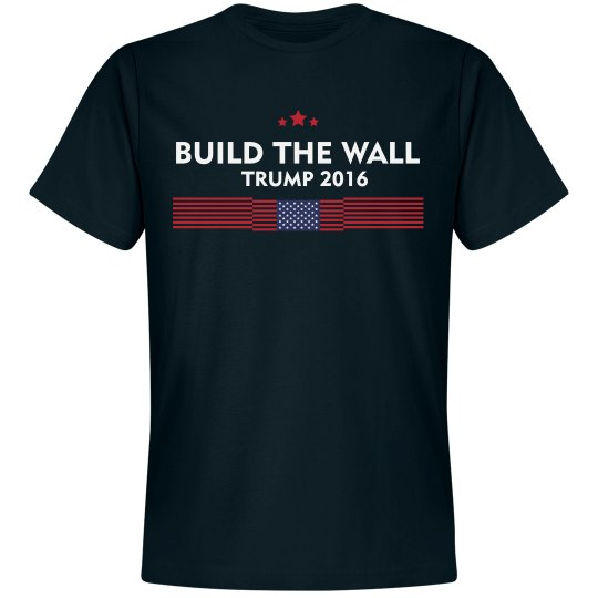 Build The Wall Trump 2016