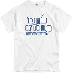 Like or Dislike T-shirt