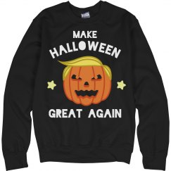 Make Halloween Great Again Sweatshirt