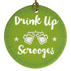 Festive Holiday Drink Up Scrooges!