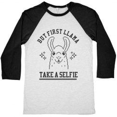 First Llama Take A Selfie