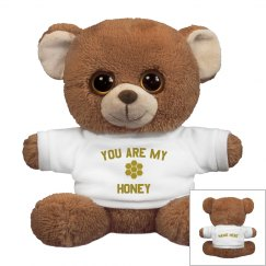 You Are My Honey Custom Plush