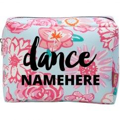 Dance Namehere Makeup Bag