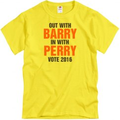 Perry 2016 Text Tee