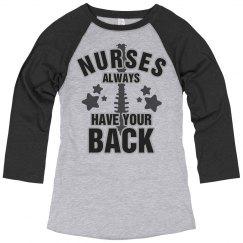 Nurses Always Have Your Back