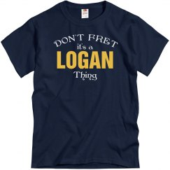 Don't fret it's Logan