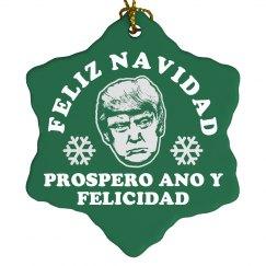 Funny Donald Trump Ornament