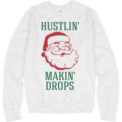 A Hustling Santa