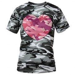 Military Heart T-Shirt