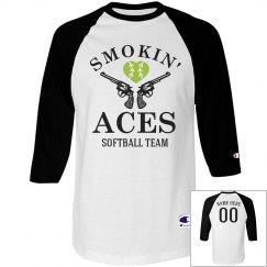 Softball Team Name Smokin' Aces