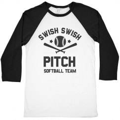 Swish Swish Pitch Softball Team