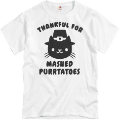 Mashed Purrtatoes Cat