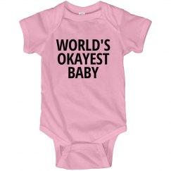 World's okayest baby