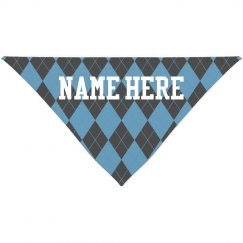 Custom Name Argyle All Over Print