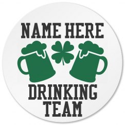 St Pattys Drinking Team