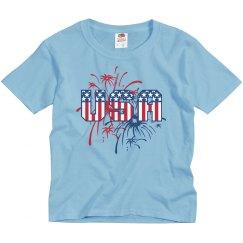 USA Fireworks Fan