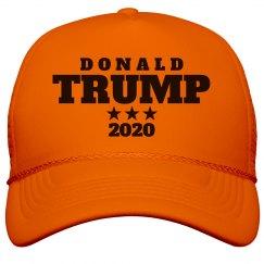 Neon Trump Hat