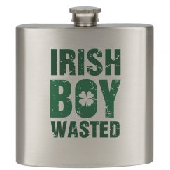 Irish Boy Drinking