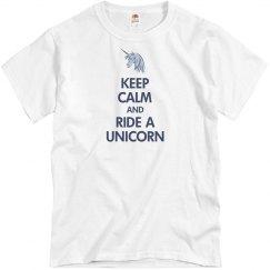 Keep Calm Unicorn Tee