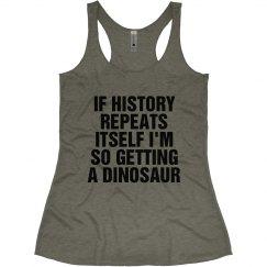So Getting a Dinosaur