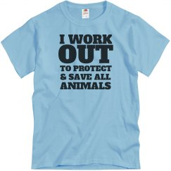I Work Out 2 Save Animals