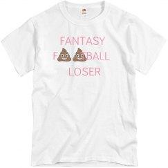 Poop Emoji Fantasy Football Loser