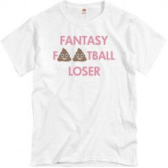 Poop Emoji Fantasy Football Loser