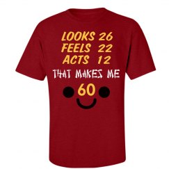 60th Birthday Tshirt